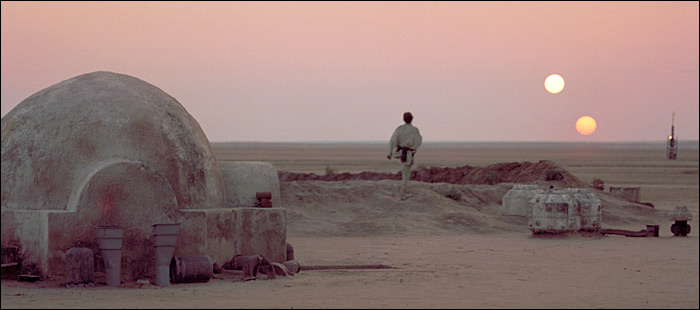 Tatooine'e ilham olan fikir