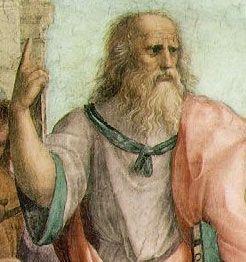 Raphael'in yorumuyla Platon